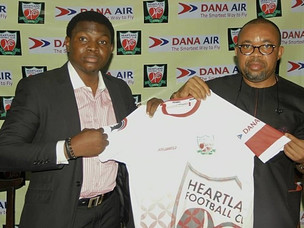 Heartland FC Bags Another Dana Air Sponsorship Deal