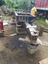 """Our friend """"welder"""" doing what he does best-- welding"""