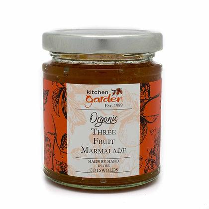 Organic Three Fruit Marmalade - 227g