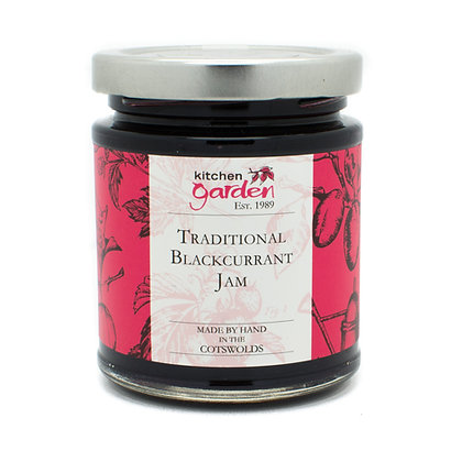 Traditional Blackcurrant Jam - 227g