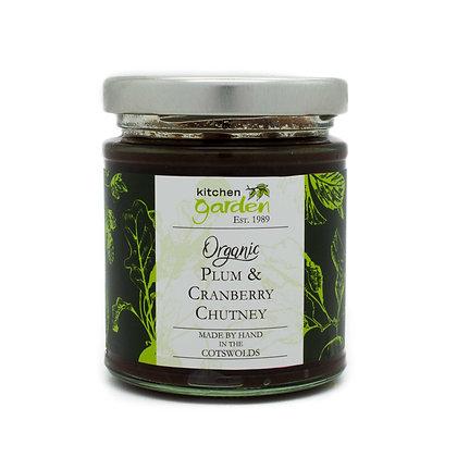 Organic Plum & Cranberry Chutney - 200g