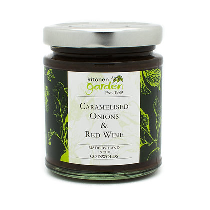 Caramelised Onions & Red Wine - 200g