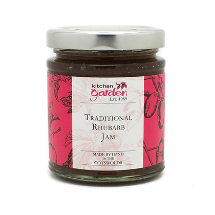 Traditional Rhubarb Jam - 227g