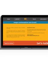 General Information Website Page