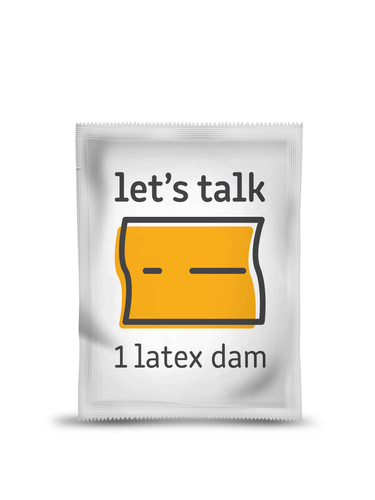 Dental Dam Subscription Box Item