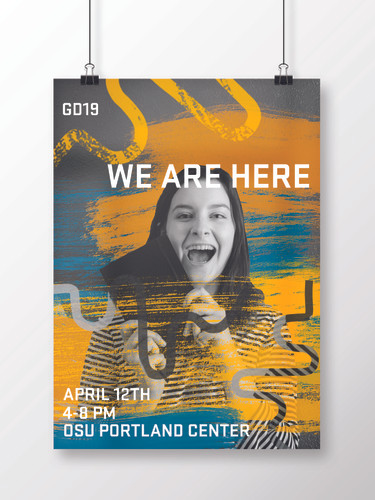 We Are Here Promotional Poster Concept