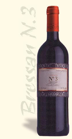 N° 3 Bressan red wine