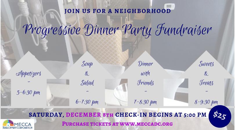 Progressive Dinner Invite
