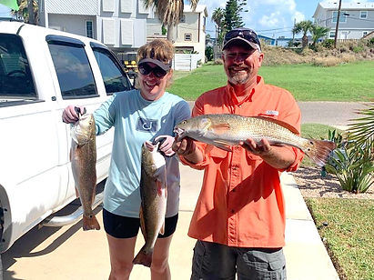 Aulne couple fishing, beast feast