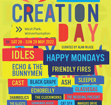 NEWS: Idles, Happy Mondays + More Announced For Utilita Creation Day Festival 2022