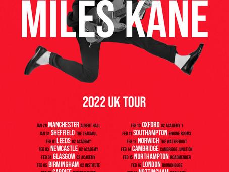 NEWS: Miles Kane Announces Jan/Feb 2022 UK Tour