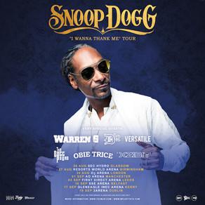 NEWS: Snoop Dogg Tour Rescheduled to August 2022