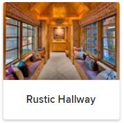 Rustic Hallways