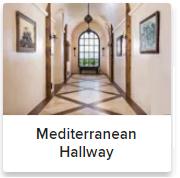 Mediterranean Hallways