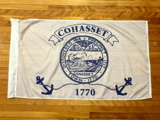 Cohasset Town Flag
