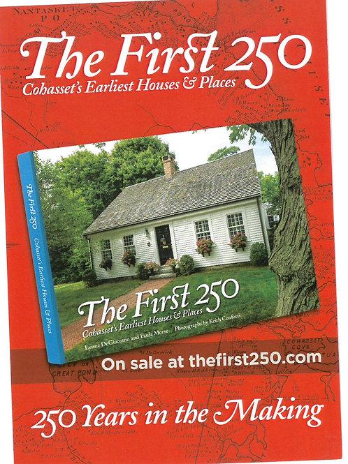 250th Anniversary of Cohasset/Happy Birthday Cohasset