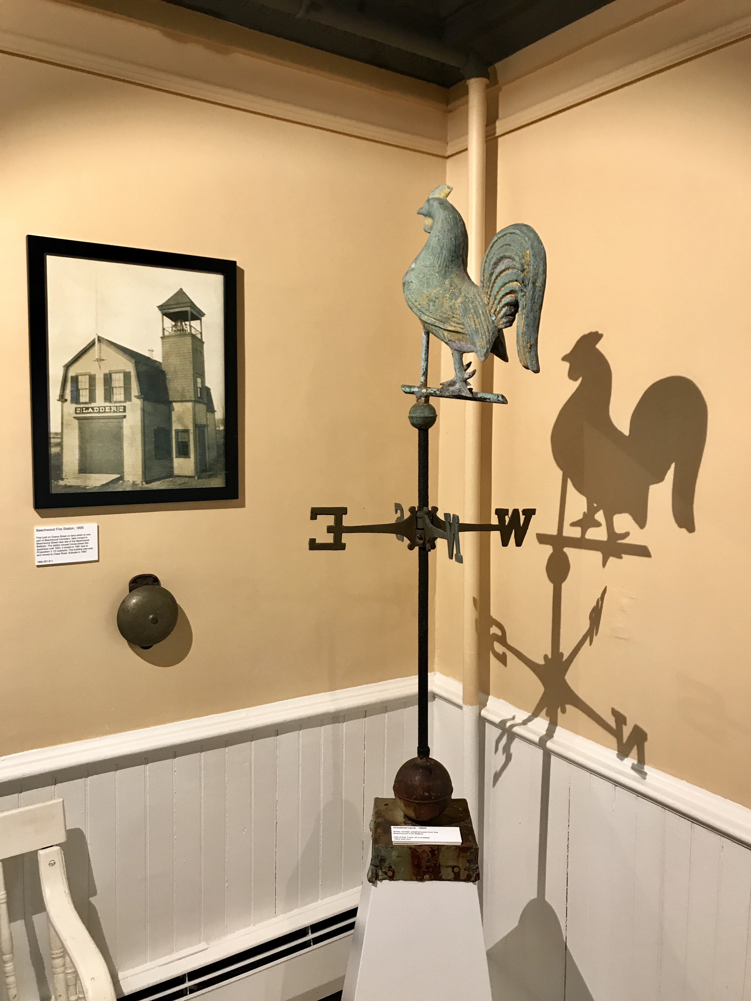 Weathervane from Beechwood Firehouse