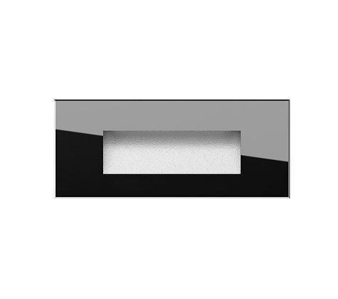 אגם שקוע קיר זכוכית שחורה ארוך