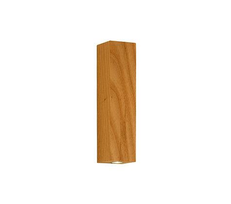 1x3W דסט קיר עץ