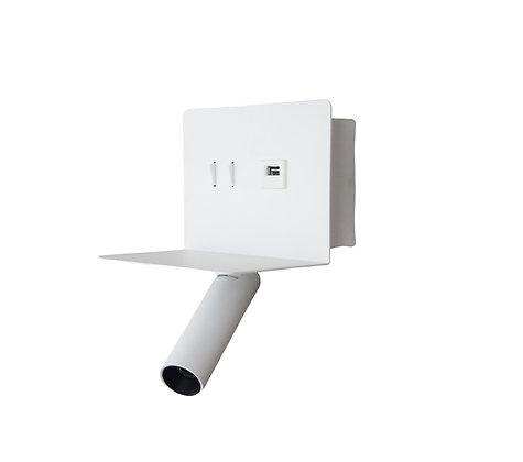 USB LED דקור קיר 8223 לבן