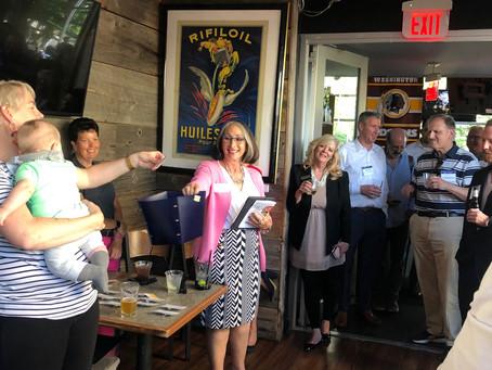President & CEO Ellen Coren emcees Bethesda Chamber event