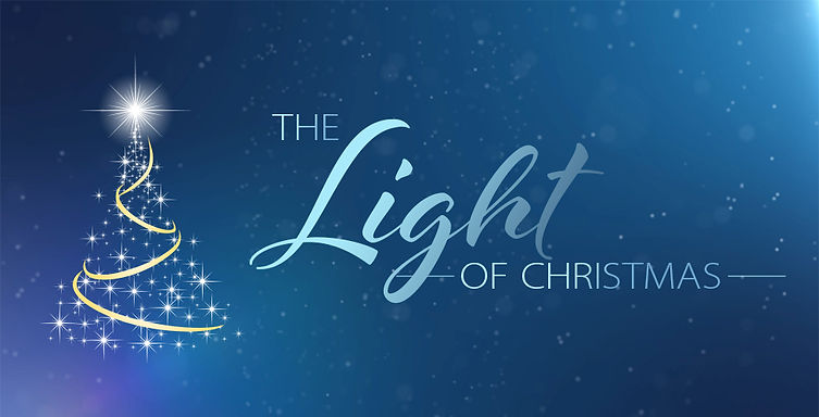 The Light Of Christmas Webpage Header 98