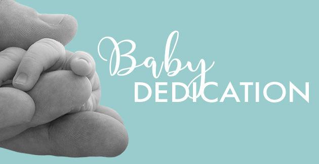Baby Dedication Webside Header Image 630