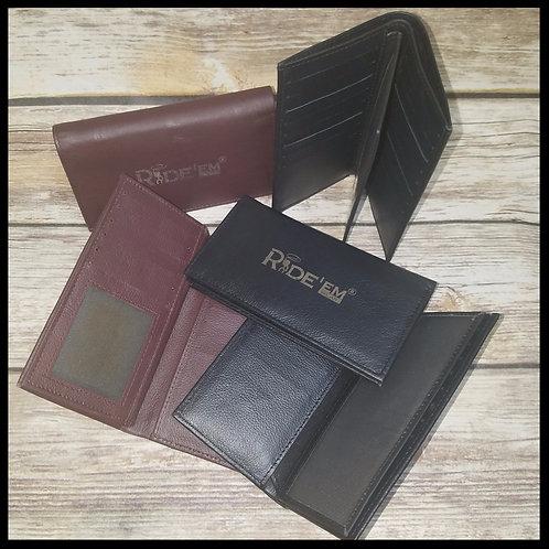 Ride'Em Leather Wallets