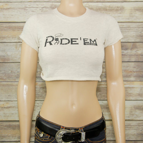 Ride'em Wear Cropped French Terry Jersey