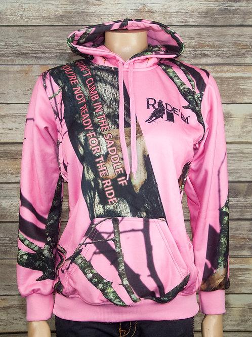 Pink Sportswear Hoodie