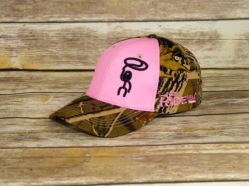 Pink & Camo Ride'em Cap