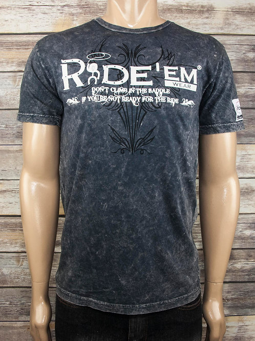 Ride'em Black Mineral Shirt
