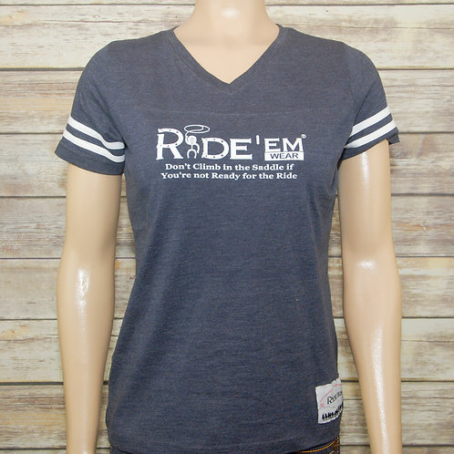 Ride'em Wear V-Neck T-shirt