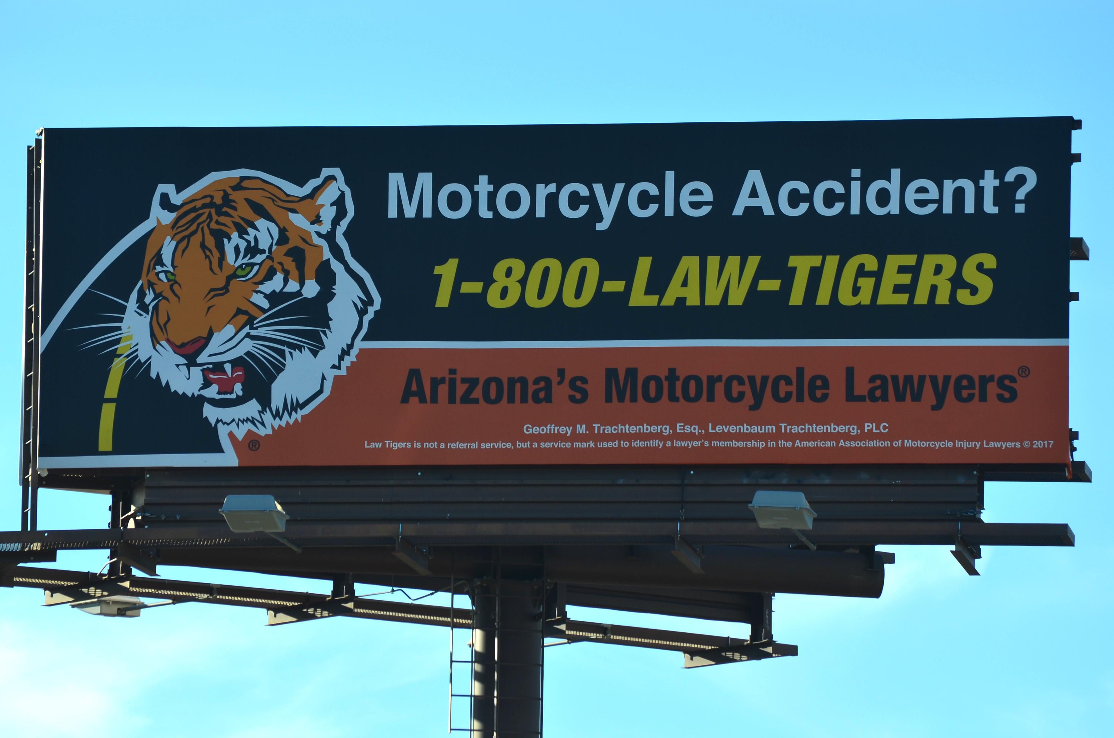 Motorcycle Injury Lawyers #01AZ-A (close) 01-31-17