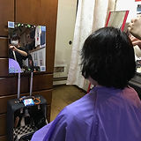 鹿児島県いちき串木野市の訪問理美容すまいりぃ。福祉美容師。介護。訪問美容。