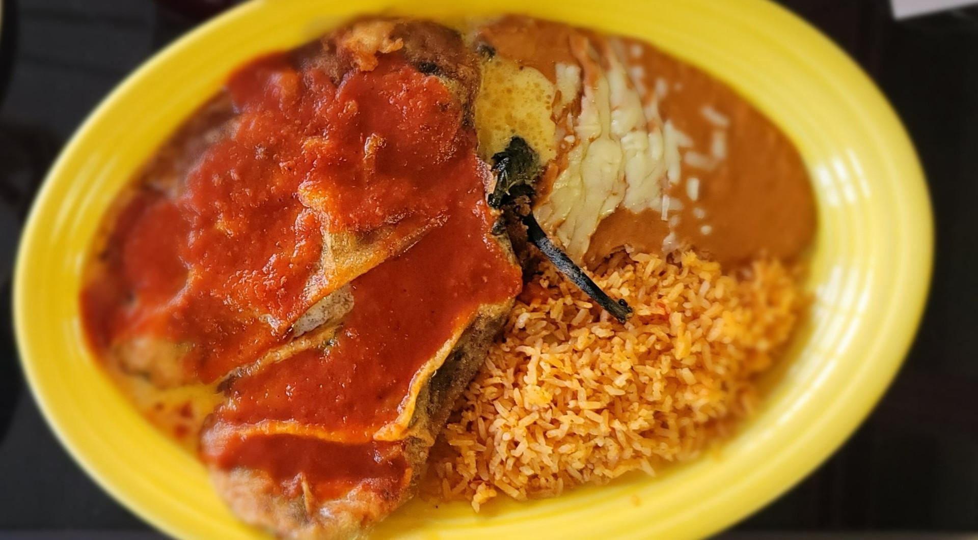 Chiles Rellenos - Poblano Dinner