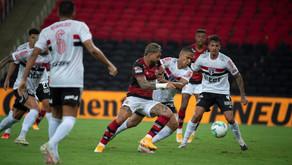 Ceni estreia com derrota no comando do Flamengo