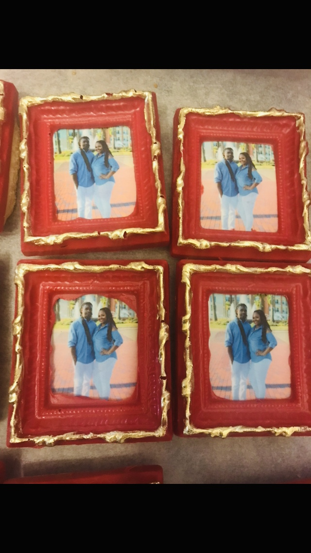 Edible Picture Frame cookies
