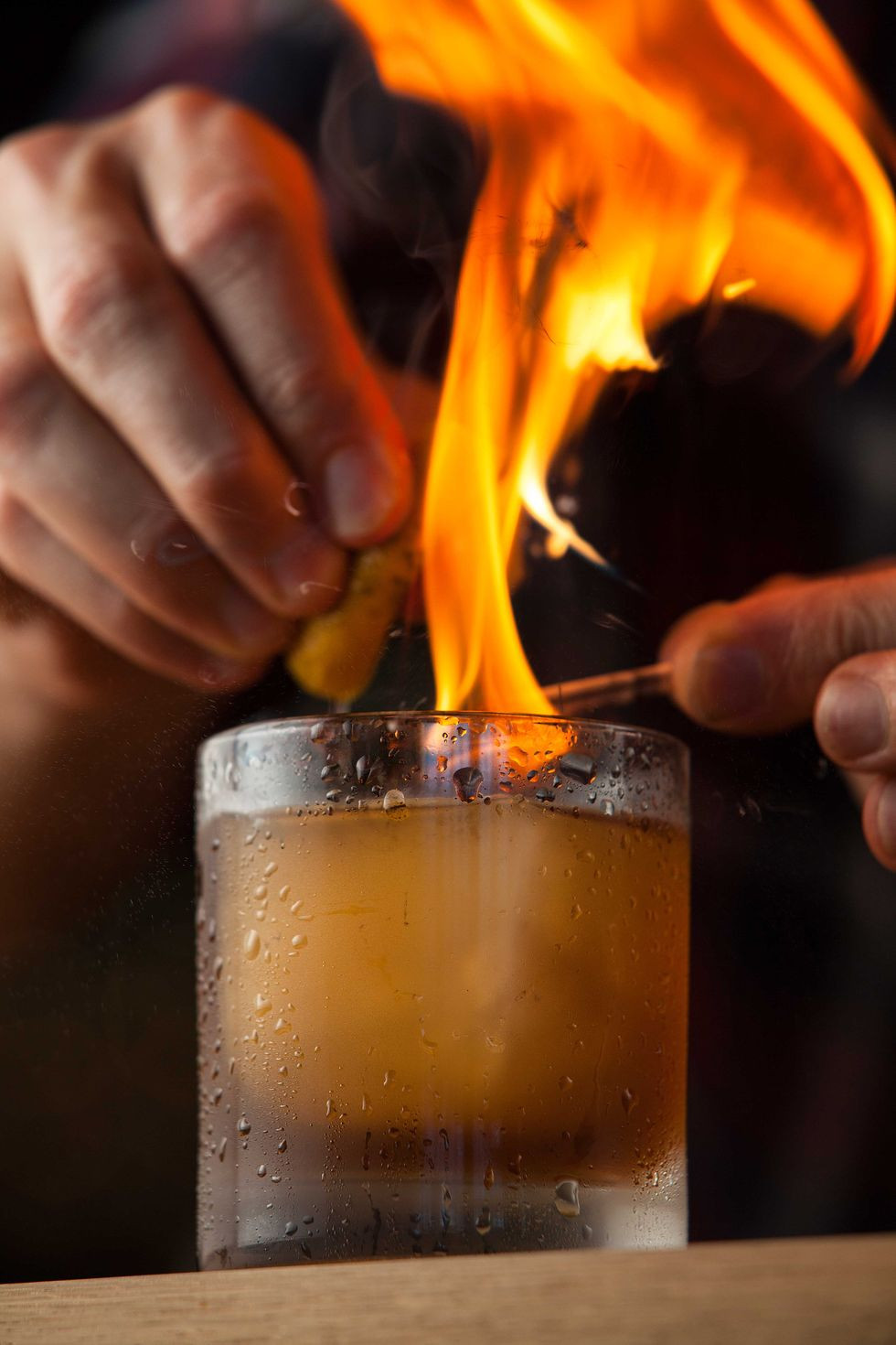 campfire sling cocktail