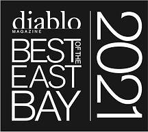 Diablo Magazine Best of the East Bay Award for 2021
