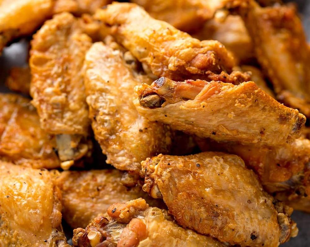 crispy air fried chicken wings