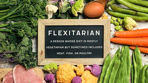 The flexitarian diet meaning