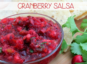 Vegan cranbery salsa recipe from AWG Private Chefs