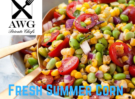 Fresh Summer Corn Succotash Recipe