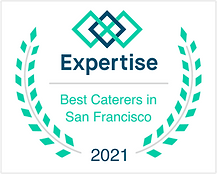 Best Caterers in San Francisco Award 2021