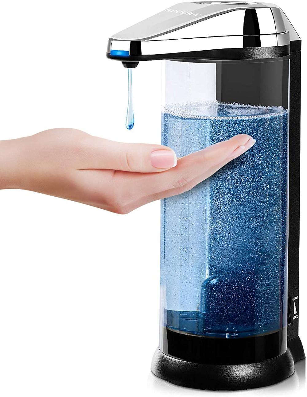 Secura Touchless Dispenser for Soap