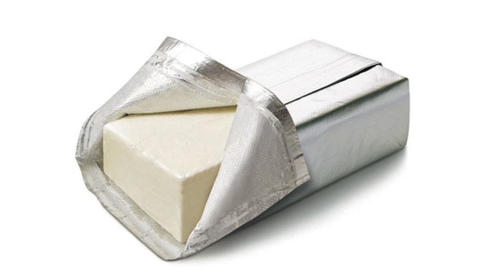 block of cream cheese