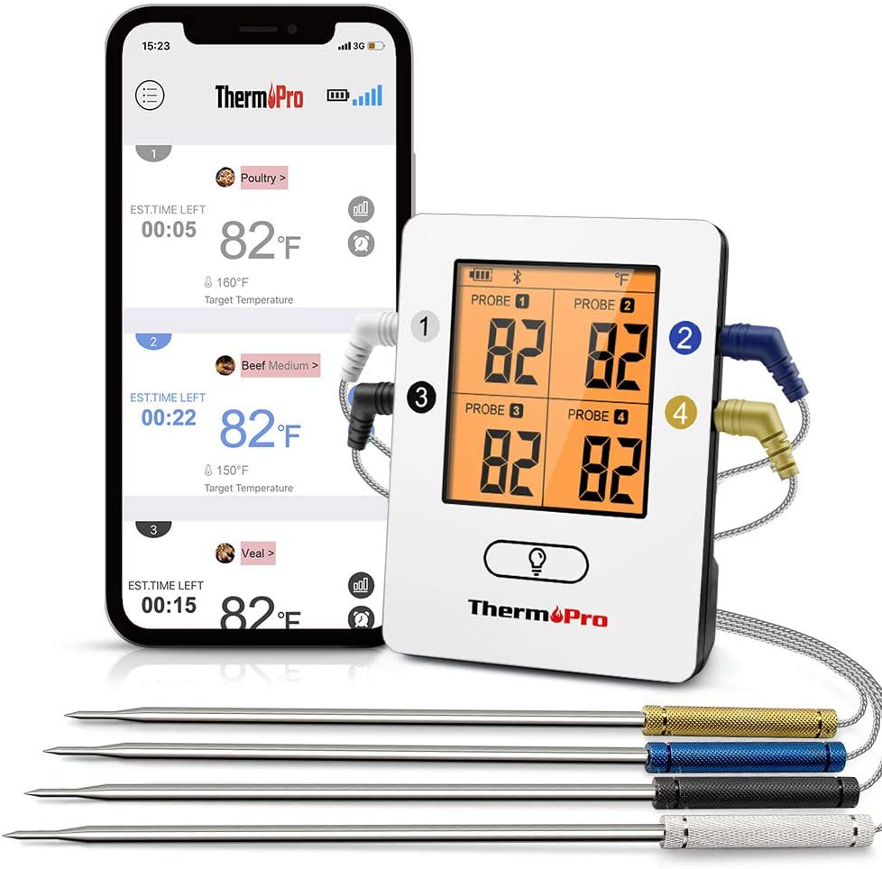 Them Pro Bluetooth Long Range Multi Thermometer