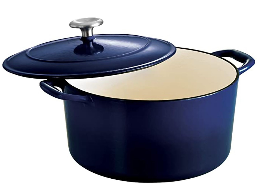 enameled rondele, dutch oven, tramontina
