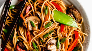 Vegetable Chow Mein Recipe - Light & Healthy